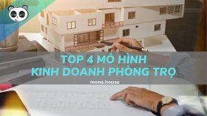 Top 4 mô hình kinh doanh phòng trọ