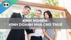 Kinh nghiệm kinh doanh nhà cho thuê - phòng trọ
