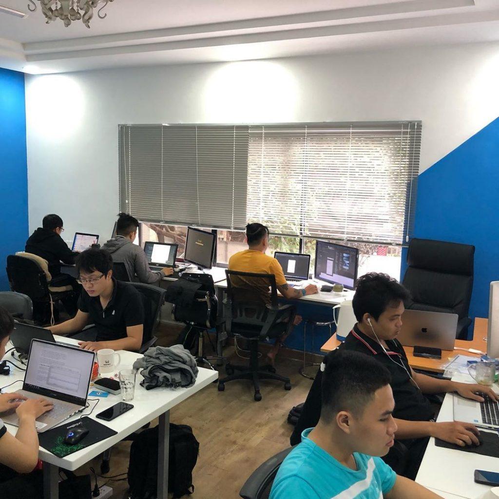 Đội ngũ lập trình phần mềm quản lý nhà trọ